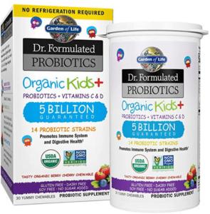 Healthy probiotic for kids