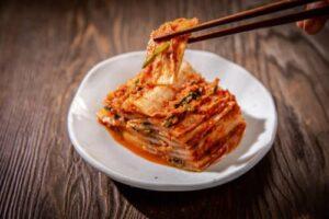 Kimchi is a super food that contains probiotics